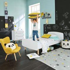 Fantastic Childs Room Designs Ideas With Blue Yellow Tones 14 – Home Design Kids Bedroom, Bedroom Decor, Stil Inspiration, White Bedding, Boy Room, House Design, Home Decor, Children's Armchair, Kids Armchair