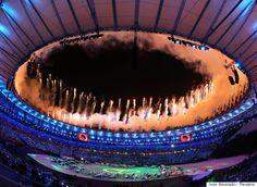 Les plus belles photos de la cérémonie douverture des Jeux olympiques de Rio