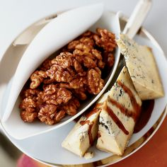 Encourage guests to cut off small chunks of the Stilton and dip them in the port syrup.    Cocktail Party Recipes   ...