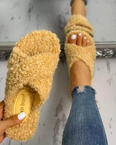 Style:FashionPattern Type:SolidMaterial:PolyesterOccasion:CasualPackage Height: There might be difference according to manual measurement.Please check the… Cute Sandals, Flat Sandals, Cute Shoes, Me Too Shoes, Flats, Gladiator Sandals, Leather Sandals, Shoes Sandals, New Fashion