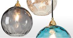 Ilaria Cluster Light, Multi Coloured Glass and Brass Light Colors, Brass, Ceiling Lights, Colored Glass, Lights, Pendant Light, Cluster Lights, Beach Cottage Decor, Multi Color