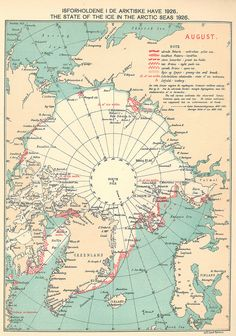 The state of the ice in the Arctic Seas in 1926
