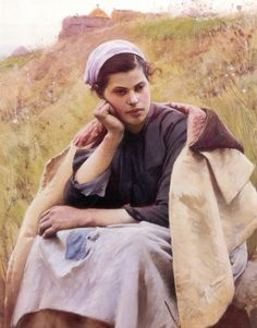 Charles Sprague Pearce (1851 – 1914) – Pintor Americano
