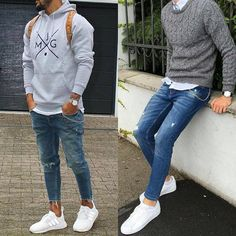 """9,892 Likes, 87 Comments - StreetStyle Gents™ (@streetstylegents) on Instagram: """"Left or Right? Style by: @massiii_22 & @abigwmss Whatcha say  or ? Leave a comment   DM for…"""""""
