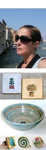 לדף הבית של אילת- גלריה ובית מלאכה לקרמיקה יוצרת השבוע באתר הום פרו