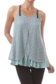 Adorable Top! Loose and Flowing, and so comfy