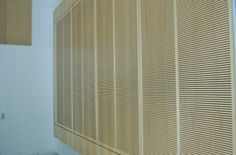 Reduce Noise in Corridor by installing Murano Acoustic Wood panels