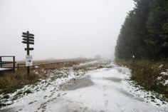 Eerste sneeuw in België is gevallen - Het Nieuwsblad