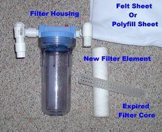 DIY Canister Filter