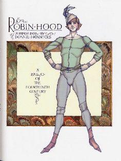 Winter 2005--In Sherwood Forest   Robin Hood by Donald Hendricks