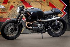 BMW Cafe Racers, BMW Scramblers, BMW R80 – R100 Customs by Kevil's Speed Shop UK