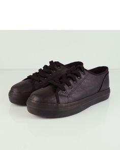 sports shoes cc699 e967e DEPORTIVA SUELA FLATFORM CON CORDONES