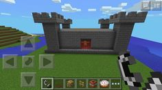 Minecraft Castle #computer_game #game #construction Minecraft Castle, Minecraft Crafts, Minecraft Stuff, Gaming Computer, Construction, Games, Classroom Ideas, Hipster Stuff, Building