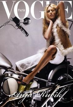 Vogue Paris (France) January 2006, Anja Rubik