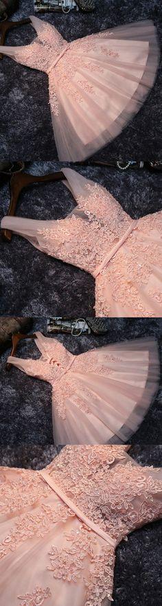 Short Prom Dresses, Lace Prom Dresses, Pink Prom Dresses, Prom Dresses Short, Princess Prom Dresses, Pink Homecoming Dresses, Prom dresses Sale, Prom Short Dresses, Short Homecoming Dresses, A Line dresses, Princess dresses Up, Lace Up Homecoming Dresses, Applique Party Dresses, V-Neck Prom Dresses, A-line/Princess Prom Dresses