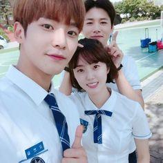 School2017 Kdrama, Kdrama Actors, Korean Drama Movies, Korean Actors, Korean Dramas, Boyfriend Kpop, Korean Shows, Drama School, School 2013