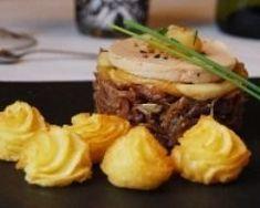 Marbré de canard au foie gras - Une recette CuisineAZ