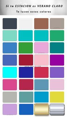 Conoce cuales son los colores que resaltan tu belleza sí pertenecen a la estación de verano suave. Análisis de color de las 12 estaciones.