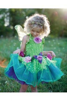 Kostüm Elfe Fee Kind 3-4 Jahre 98 -104