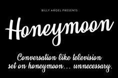 Honeymoon Font | dafont.com