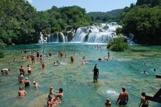Skradinski Buk Waterfalls – Krka National Park in Šibenik, Croatia