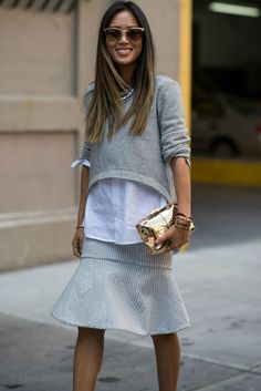Office Outfit Ideas: Glamour.com