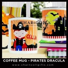 """Coffee Mug - Pirates Dracula 