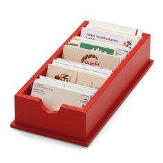 Visitenkartenkasten   Schreibtischausstattung