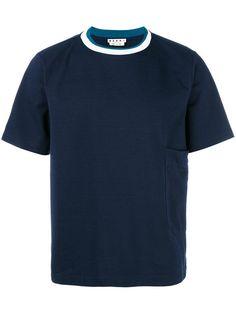 MARNI Striped Collar T-Shirt. #marni #cloth #t-shirt
