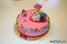Woezel & Pip Taart * Dutch Cartoon Woezel & Pip Cake