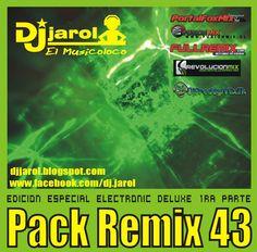 descarga Pack Remix 43 Especial Electronic Deluxe ~ Descargar pack remix de musica gratis | La Maleta DJ gratis online