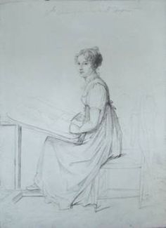 Constance Charpentier, Drawing (from the site of her family member Gildas Dacre-Wright)