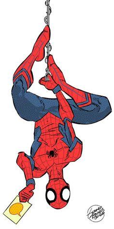 geraldo-borges-spider-man-civil-war-version.jpg 600×1,208 pixels
