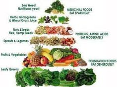 Chart to Eat Micro Nutrient Foods
