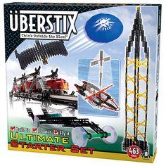 Uberstix Starter Set Construction Toy Uber Stix New