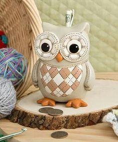 owl piggybank