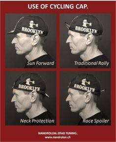 How to Wear a Cycling Cap.