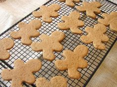 Chewy Gingerbread Cookies - just made these...they are SO chewy! Best recipe I've made for gingerbread men :-)