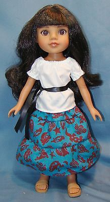 Southwestern-Outfit-for-14-Hearts-for-Hearts-H4H-Effner-Little-Darling-dolls
