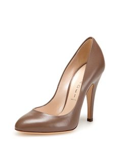 Pointed-Toe Pump by Casadei at Gilt