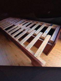 Smart bed storage seat idea