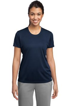 Competitor Tee Shirt - Buy wholesale sport-tek womens competitor tee at Gotapparel.com