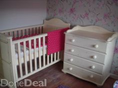 nursery furniture For Sale in Limerick : - DoneDeal. Cots For Sale, Getting Ready For Baby, Nursery Furniture, Cribs, Bed, Home Decor, Cots, Decoration Home, Bassinet