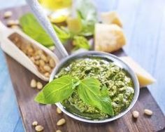 Sauces, Basil Pesto, Mayonnaise, Palak Paneer, Chutney, Spinach, Dips, Favorite Recipes, Vegetables