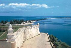 View from the 1576 Portuguese Fortaleza de Sao Miguel in the capital city of Luanda - Luanda Province, Angola.  -kc