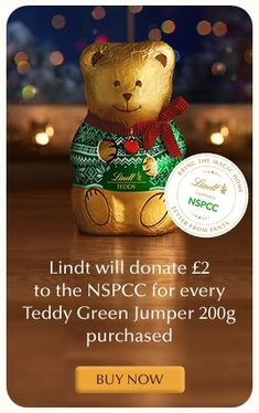 Lindt is aiming to donate to the NSPCC's Letter from Santa campaign to help make Christmas 2017 a little more magical for children across the UK