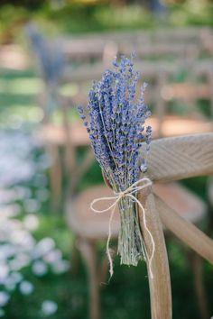 Lavender Aisle Flowers | Photography: Pictilio,Floral Design: Twig and Petals