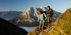 Wandern und Wanderrouten in Tirol | Seefeld - Leutasch - Moesern - Reith - Scharnitz