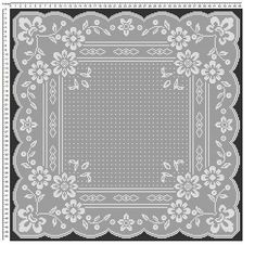 Lace Heart Baby Blanket Is Perfect For A Newborn Free Crochet Doily Patterns, Crochet Chart, Crochet Squares, Thread Crochet, Crochet Doilies, Hand Crochet, Crochet Lace, Crochet Stitches, Crochet Table Topper