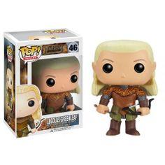 Cabezón Legolas, 10cm. El Hobbit 2, Funko POP Movies